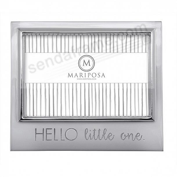 HELLO LITTLE ONE 6x4 SIGNATURE frame by Mariposa®