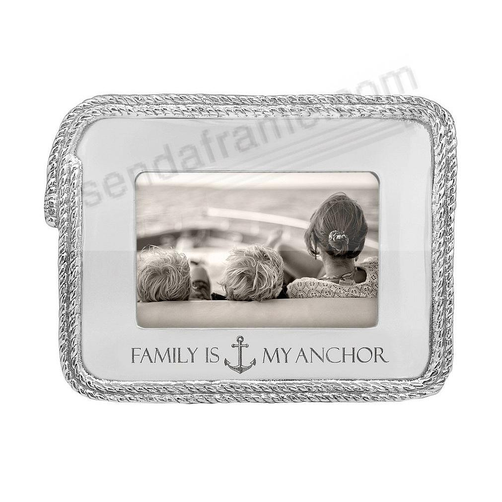FAMILY IS MY ANCHOR Statement 6x4 Frame by Mariposa®