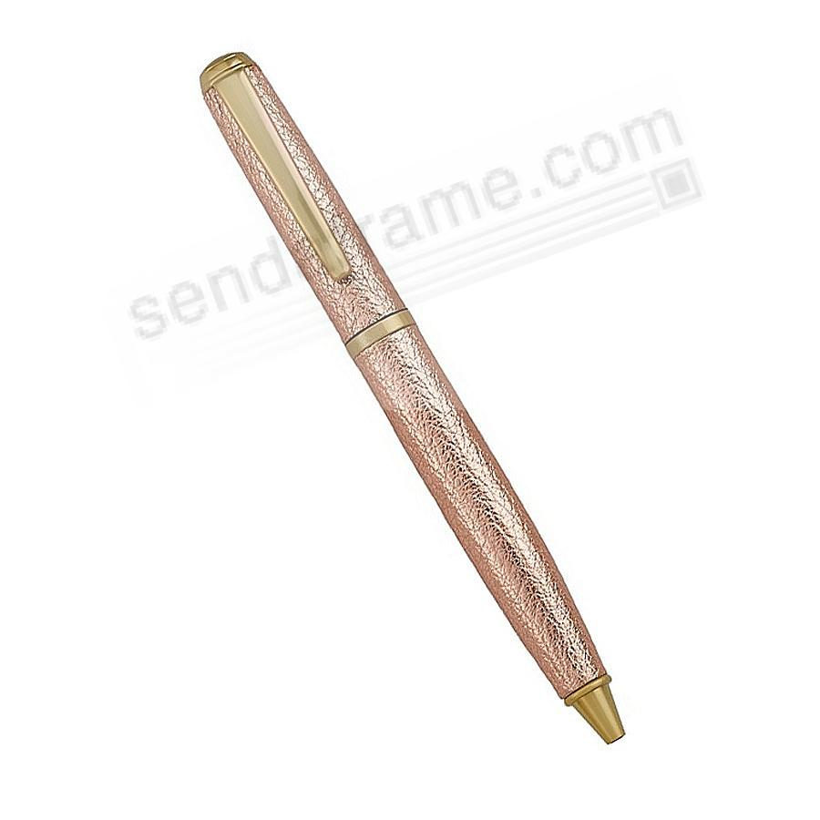 Full Wrap Fine Leather PEN in ROSE-GOLD by Graphic Image™
