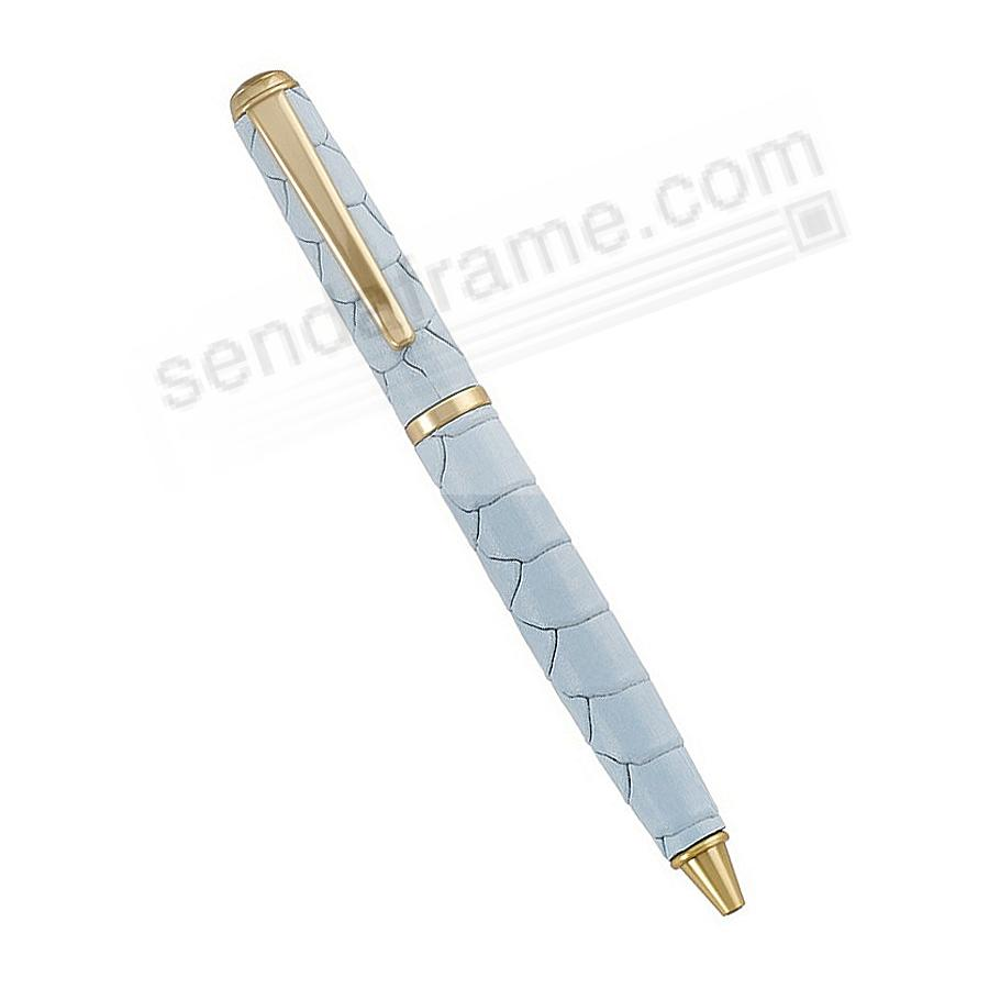 Full Wrap Fine Leather PEN in CLOUD EMBOSSED-PYTHON by Graphic Image™