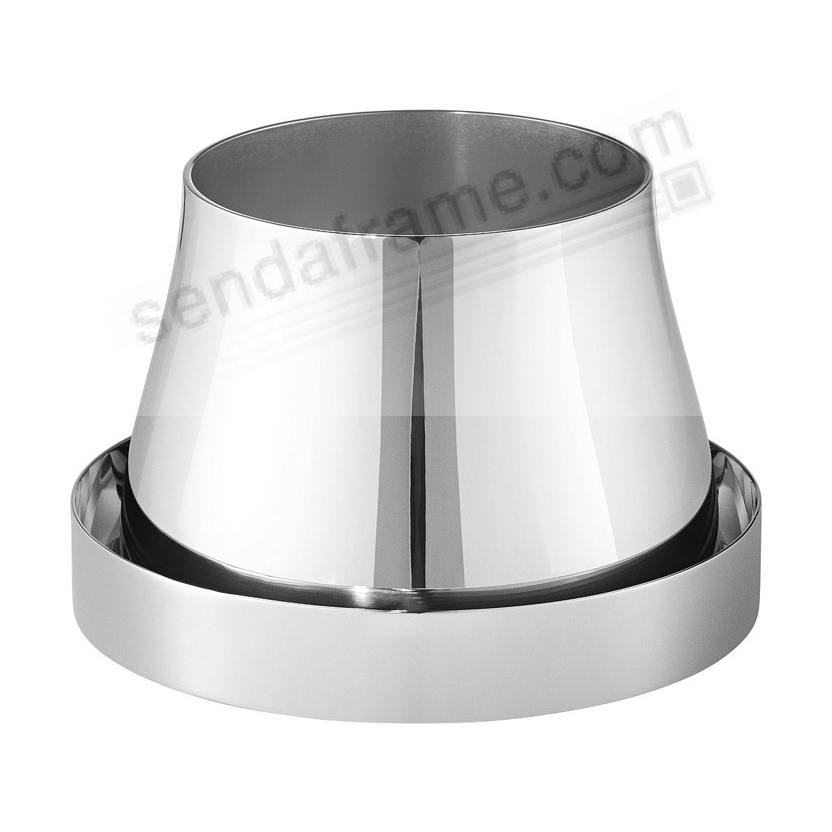 TERRA POT+SAUCER (small) Stainless Steel by Georg Jensen®