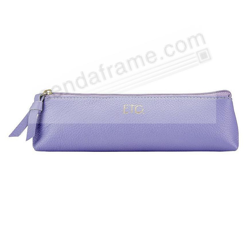 ETC CASE LILAC Leather by Graphic Image®