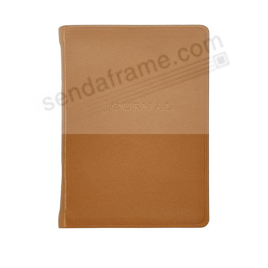 Pocket 6in (Small) BRITISH-TAN Fine Leather Travel Journal by Graphic Image™