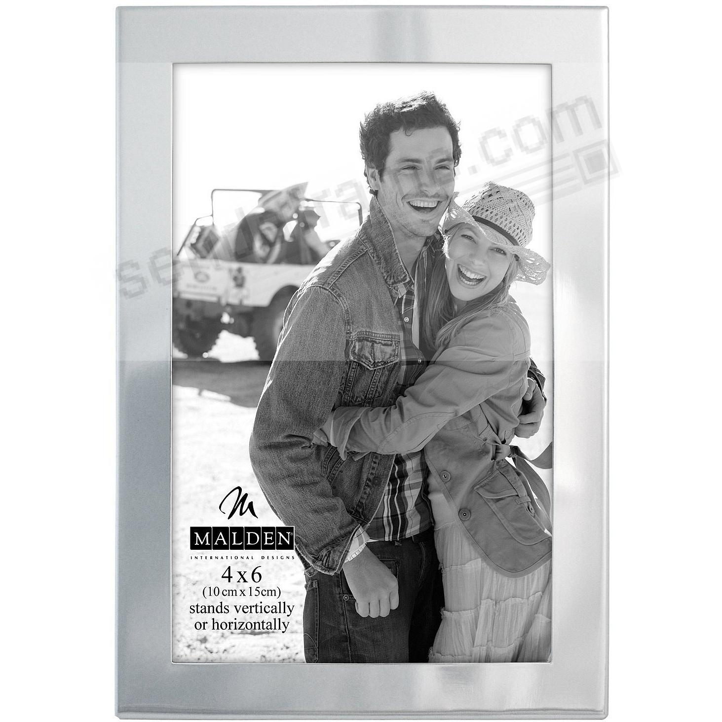 ESSENTIALS Silverplate Engraveable 5/8-in Border frame