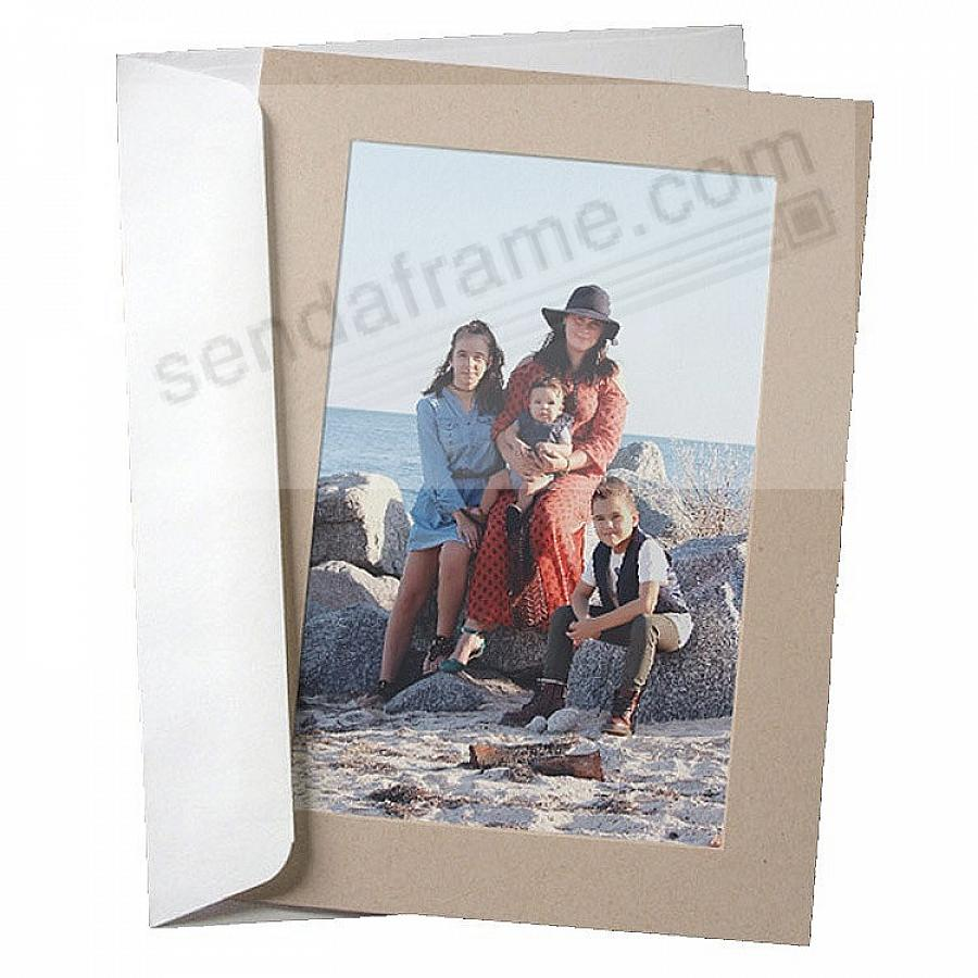 SIMPLICITY DESERT SAND Photo Insert Card (sold in 10s)