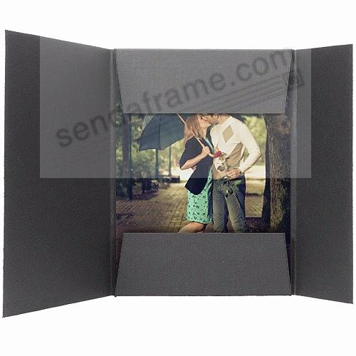 Black cardstock Presentation Folders (sold in 25s)