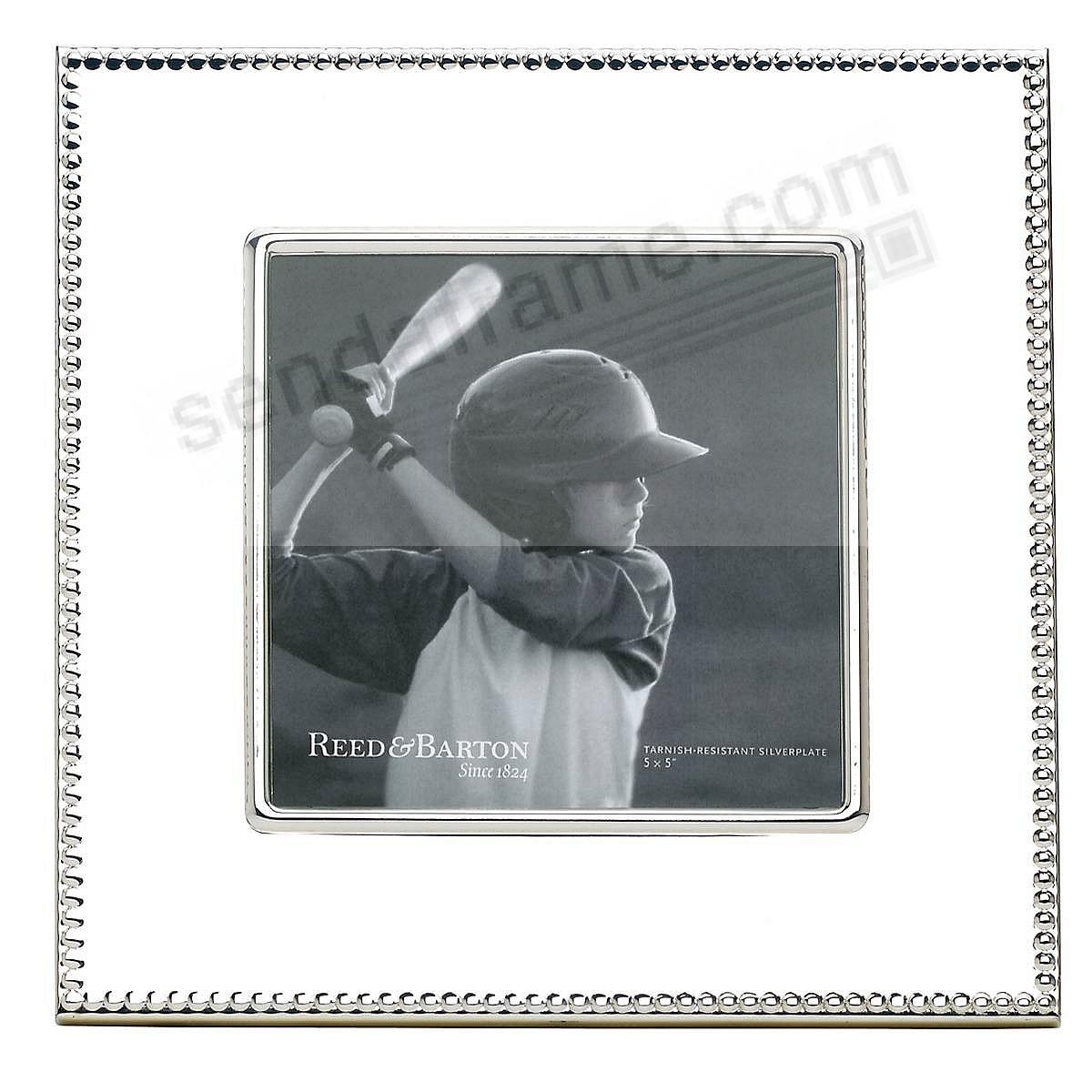 LYNDON special proof size 5x5 frame by Reed & Barton®