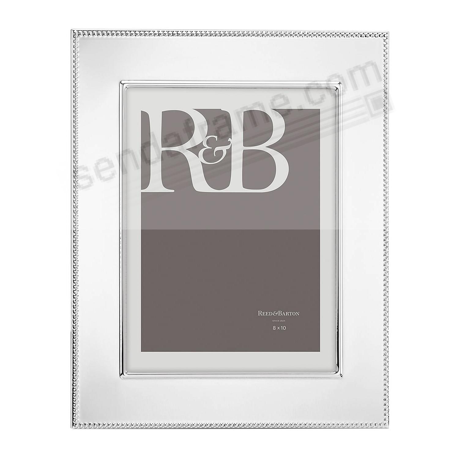 LYNDON 8x10 Engraveable Silver by Reed & Barton®