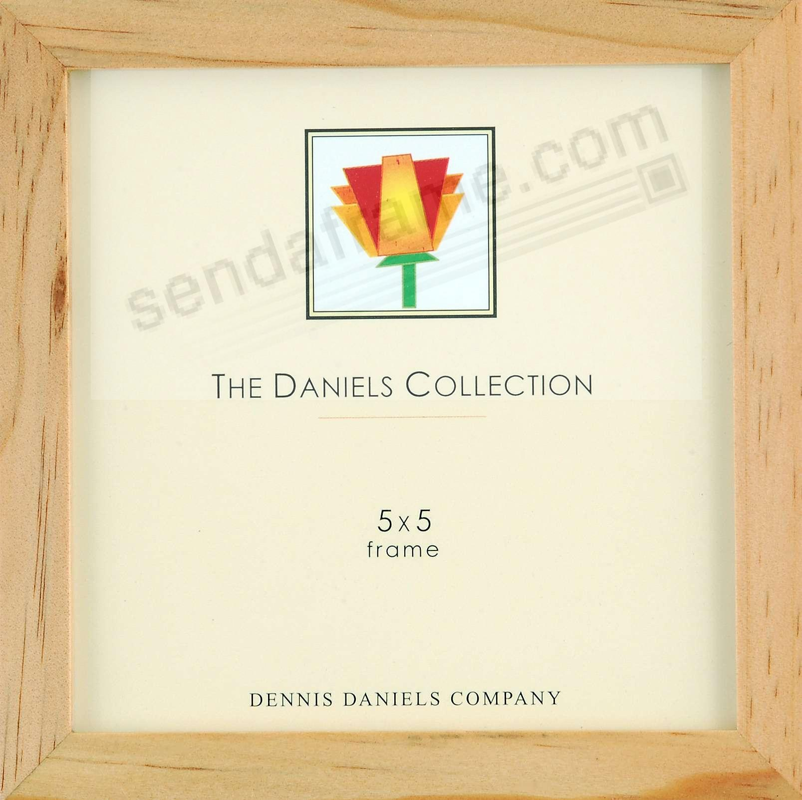 The Original DANIELS W41: Square Corner GALLERY WOODS natural-stain by Dennis Daniels®