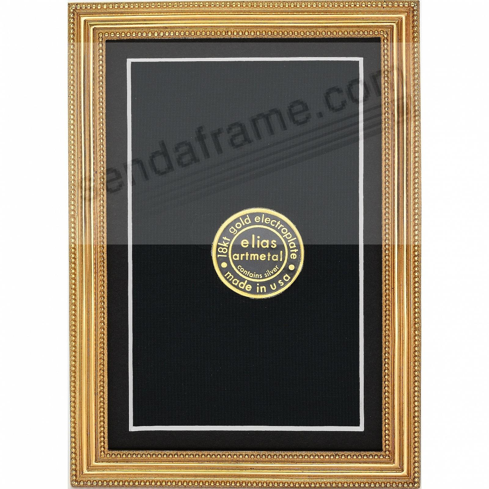 Museum Gold Vermeil over pewter CLASSICO frame<br>by Elias Artmetal®