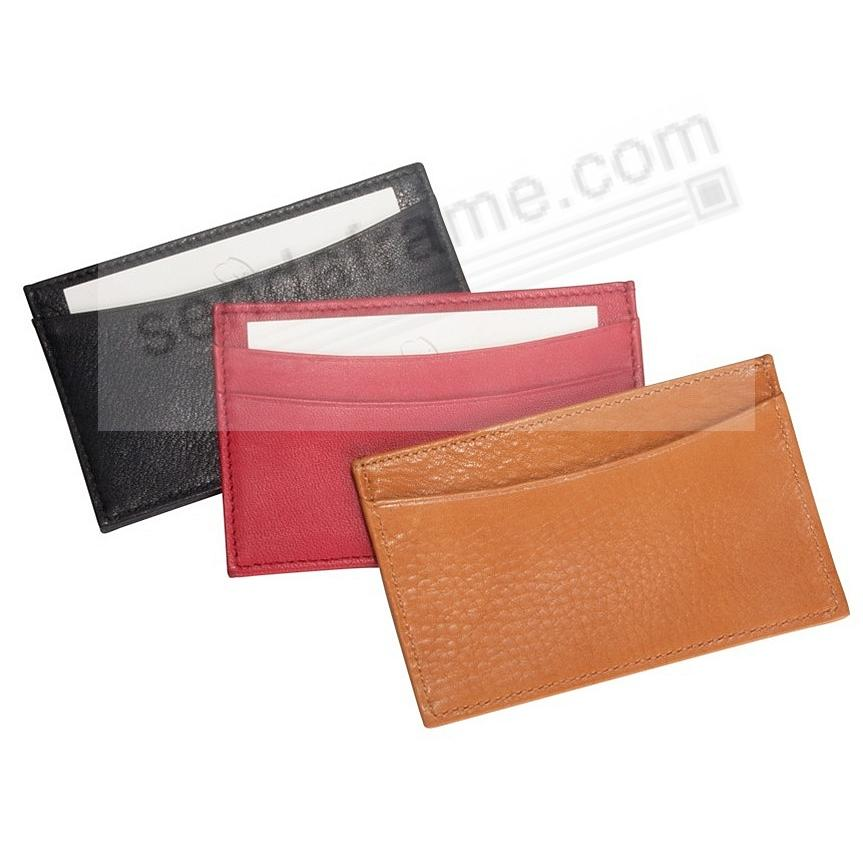 Traditional is Available in 3 Leather Colors