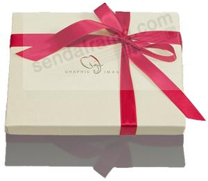 Storage Gift Box (w/holiday time bow)