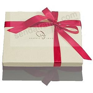 Storage Gift Box w/holiday bow (sample)