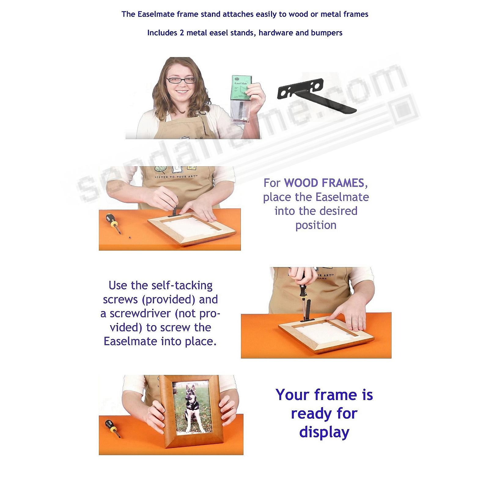 Wood Frame Setup Instructions